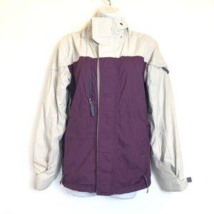 686 womens snowboard Smarty jacket purple Gray XS